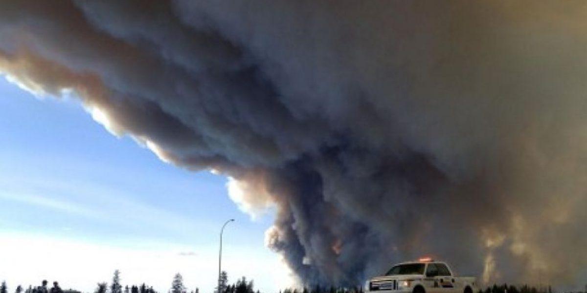 Los daños que ha dejado el terrible incendio forestal en Canadá