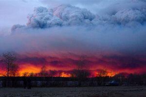 La terrible situación hizo que la autoridades declararan estado de emergencia. Foto:AP