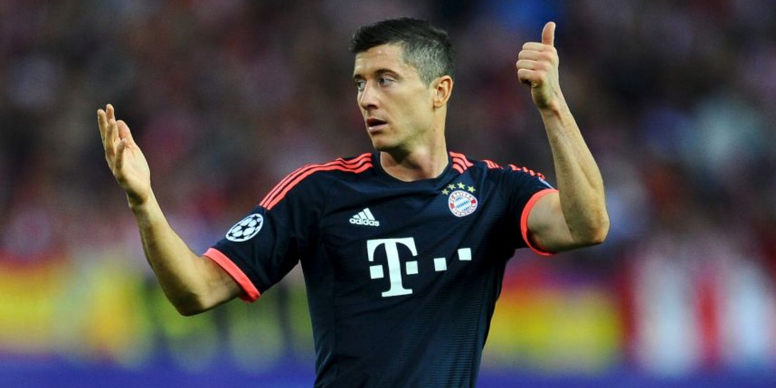 El top-five de goleadores: Robert Lewandowski Foto: Getty Images