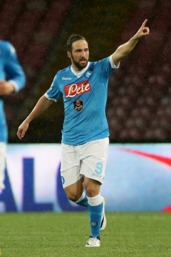 2. Gonzalo Higuaín Foto: Getty Images