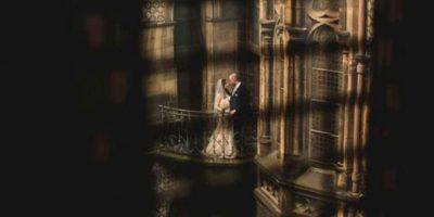 Imágenes de la Boda al estilo Harry Potter Foto:Via Kelly ClarkeVia Kelly Clarke