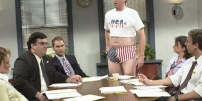 "Will Ferrel en ""SNL"". Foto: vía NBC"