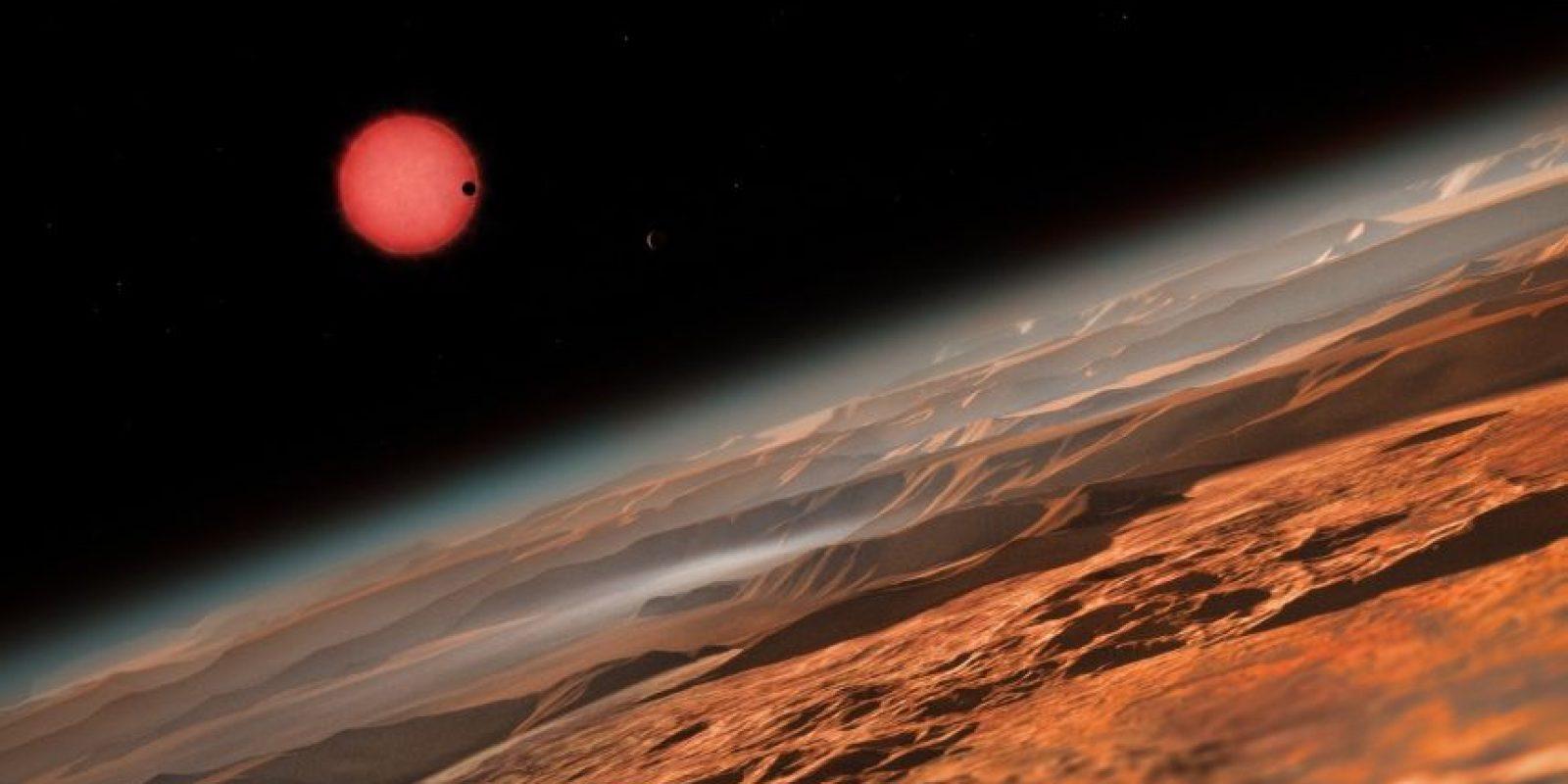 El método de estos científicos para rastrear planetas se basa en el paso del planeta frente a su estrella. Foto:Universidad de Lieja