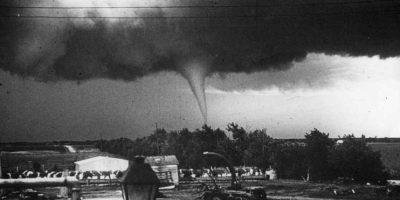 En EE.UU. hay cerca de mil tornados al año. Foto:Getty Images