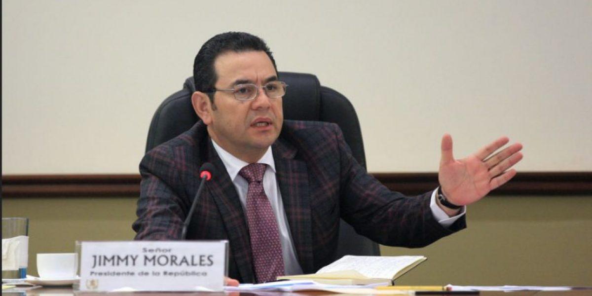 """Jimmy Morales a Mario Taracena: """"Debería tener altura al manejar sus declaraciones"""""""