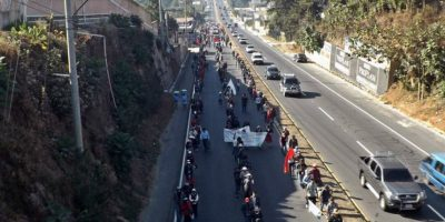 Más de 20 bloqueos afectarán el tránsito vehicular mañana