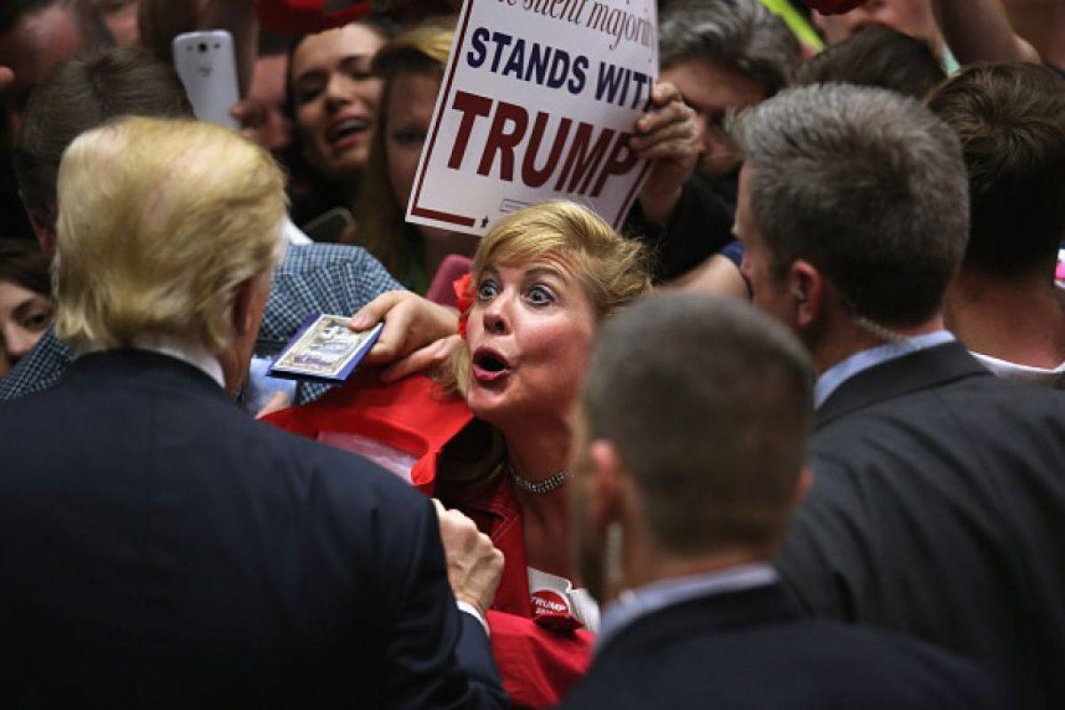 El sindicato de la Patrulla Fronteriza Foto:Getty Images