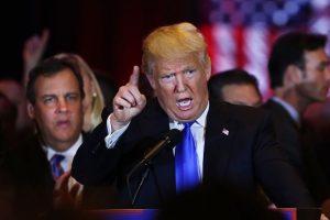 Chris Christie, ex precandidato y gobernador de Nueva Jersey Foto:Getty Images