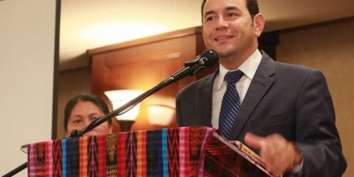 Jimmy Morales saludó de esta manera a las madres en su día