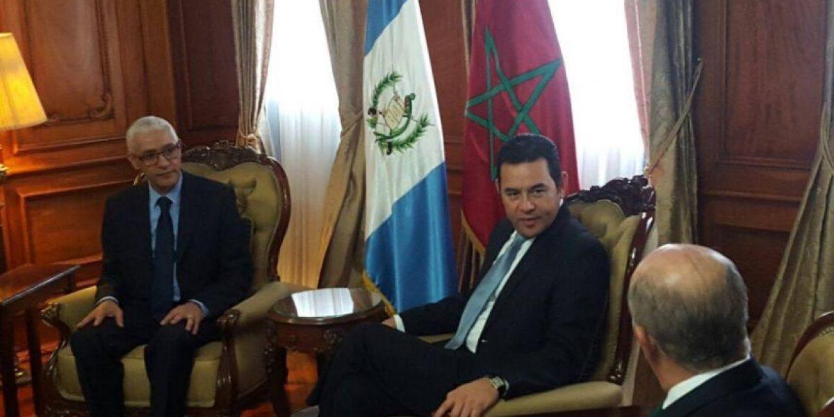 Guatemala reitera intención de abrir una embajada en Marruecos