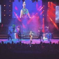 Así fue su presentación en Cancún, México Foto:Vía Instagram/@belindapop