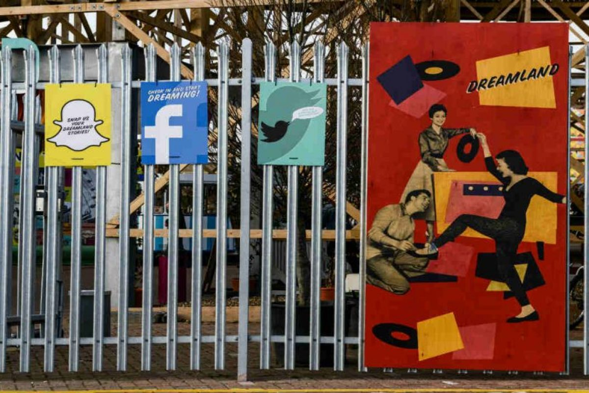 Snapchat es la red social favorita entre los jóvenes. Foto:Getty Images
