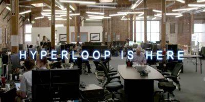 """""""Hyperloop está aquí"""" Foto:Hyperloop"""