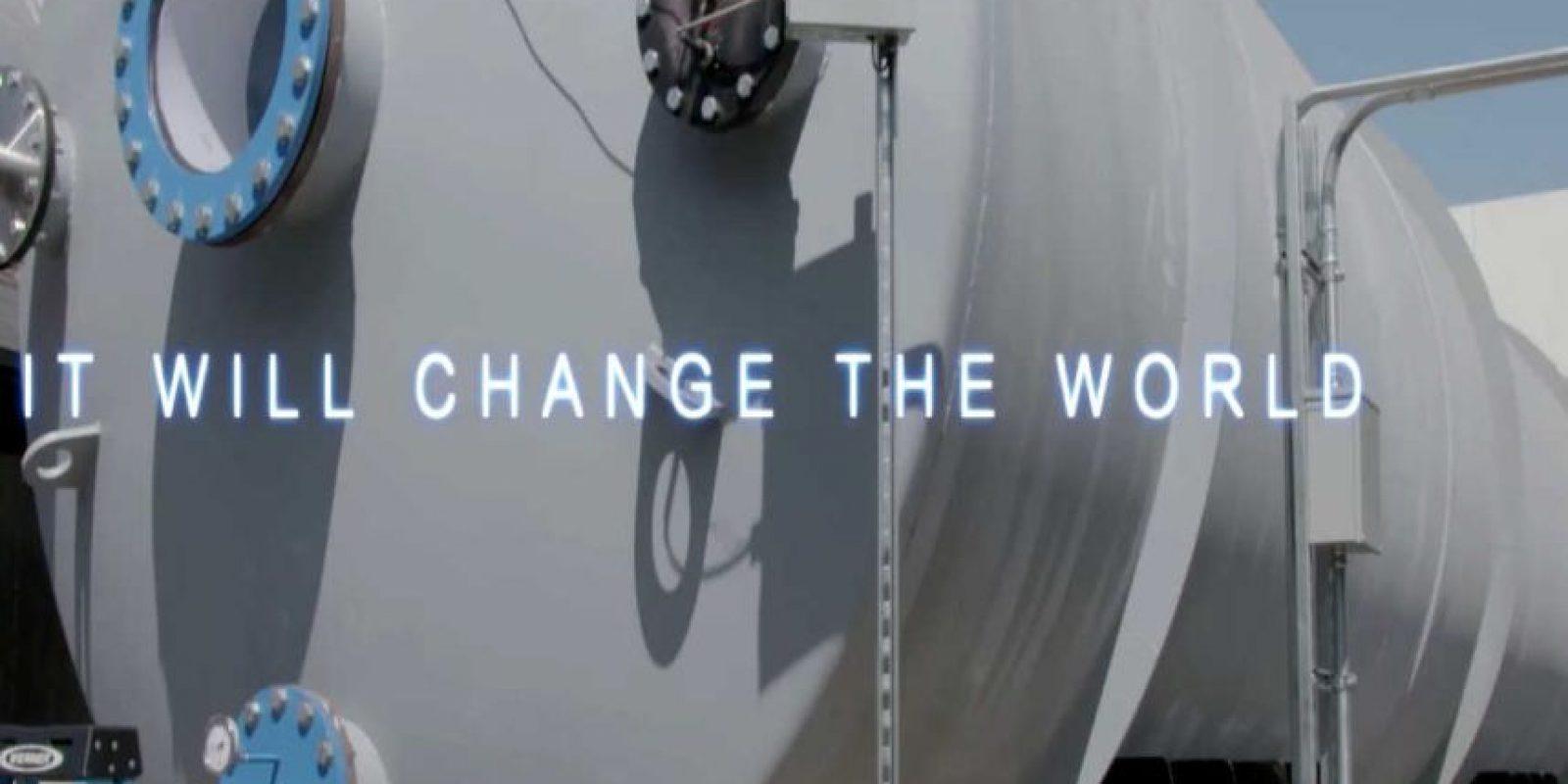 """""""Cambiará al mundo"""" Foto:Hyperloop"""