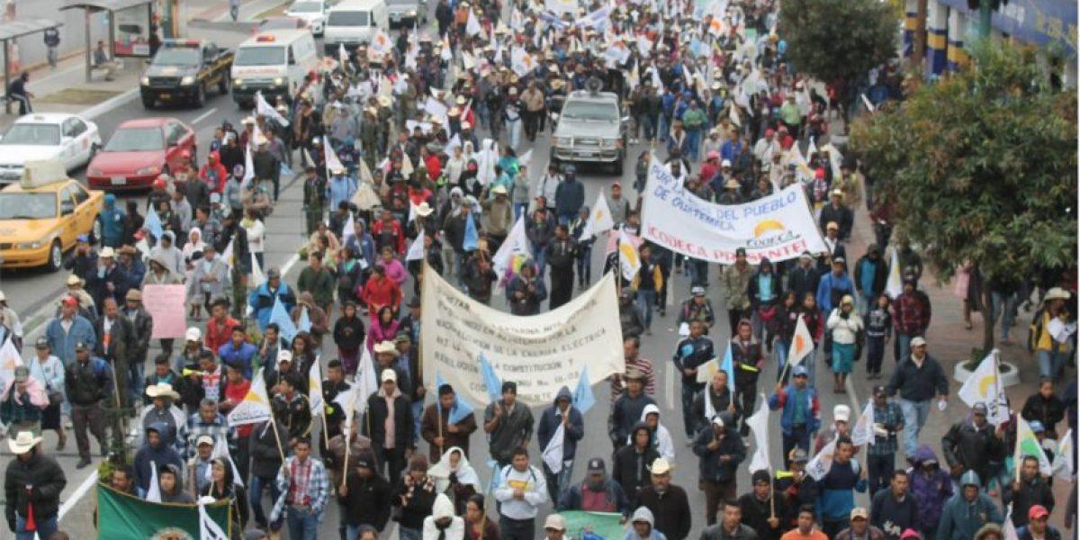 Gobierno ve innecesaria la protesta de campesinos y llama al diálogo