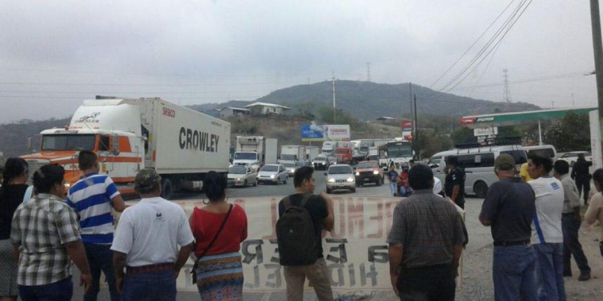 ¿Qué hará la PNC con los bloqueos en carretera de este miércoles?