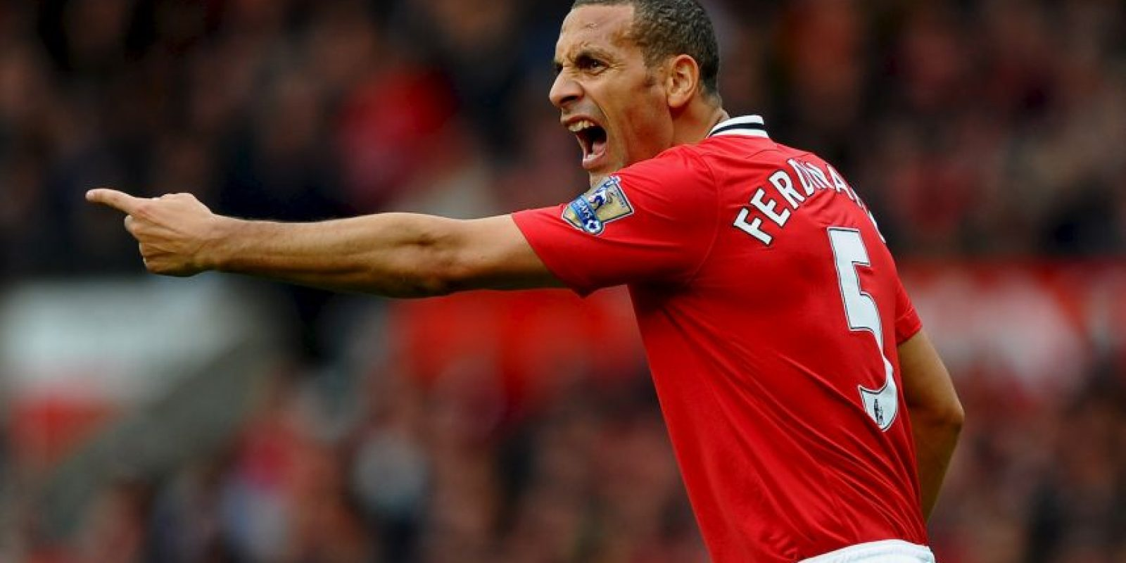 2. Rio Ferdinand Foto: Getty Images