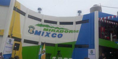 Alcalde Neto Bran inaugura el mirador de Mixco