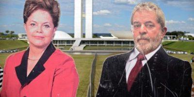 Supliendo al expresidente Luiz Inácio Lula da Silva. Foto:AFP