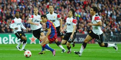 2011: Manchester United vs. Barcelona Foto: Getty Images