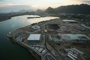 En Río de Janeiro trabajan a marchas forzadas para tener todo listo de cara a los Juegos Olímpicos. Construcciones como una nueva línea de metro y el velódromo estarán listos casi al arranque de los Juegos. Foto:Getty Images