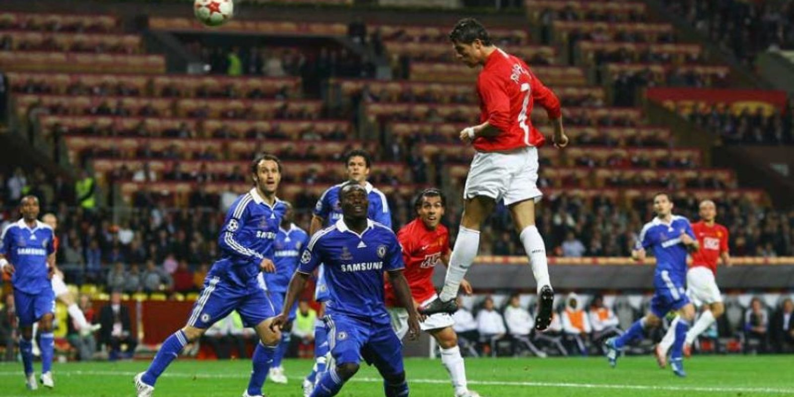 2008: Manchester United vs. Chelsea Foto: Getty Images