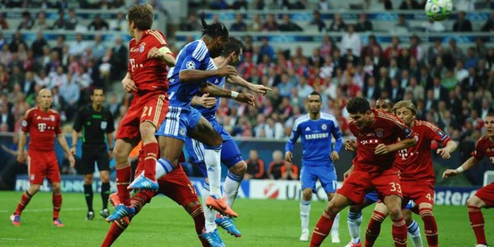 2012: Bayern Munich vs. Chelsea Foto: Getty Images