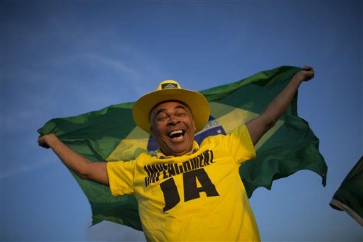 Así lucieron las calles de Brasil durante la votación en el Senado Foto:AP