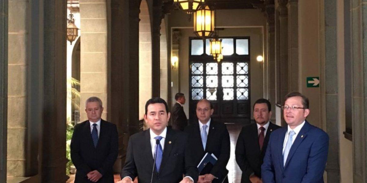 Así respondió Jimmy Morales al TSE por las reformas electorales