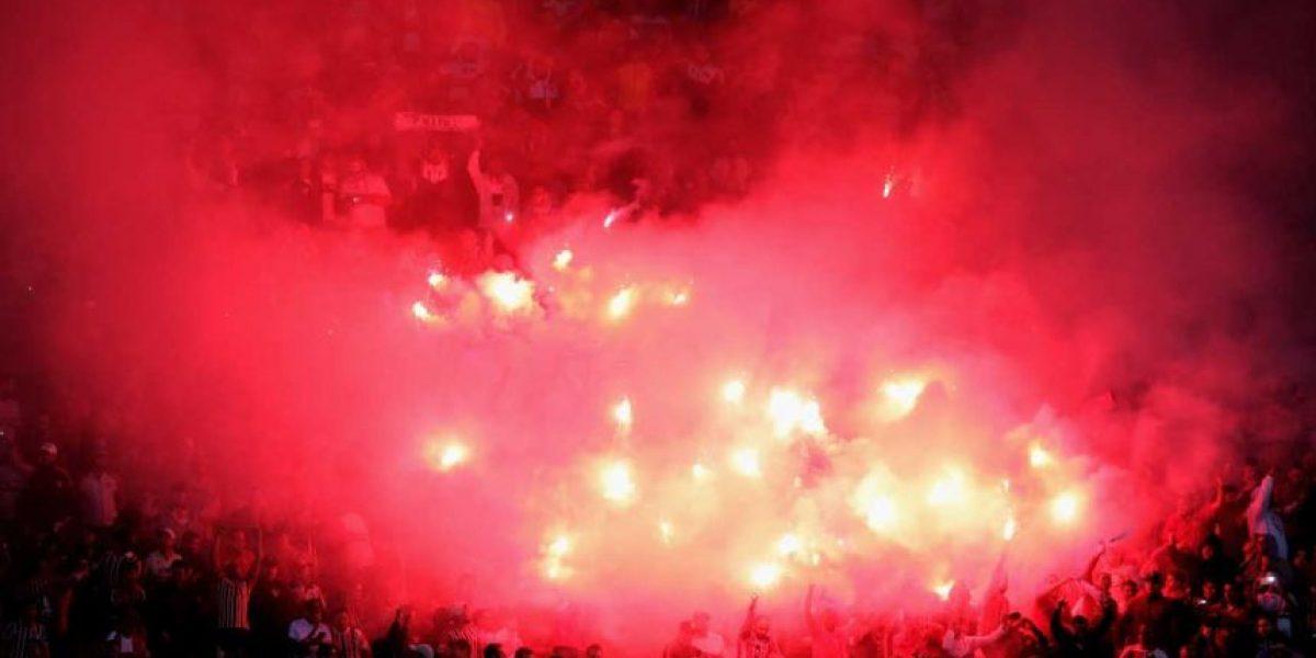 Copa Libertadores: Hinchas caen de la tribuna en festejo de gol