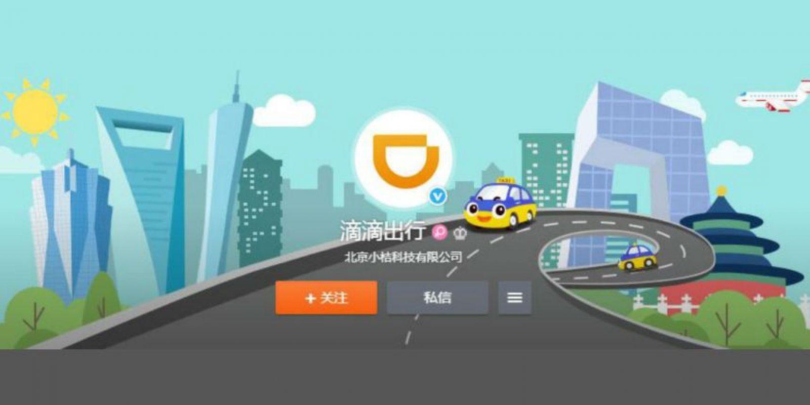 En China hay un problema de escasez de taxis. Foto:Didi Chuxing
