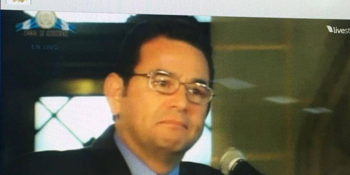 La emoción le gana al presidente Jimmy Morales, ¿por qué?