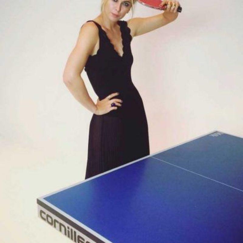 María Sharapova no sólo es una de las mejores tenistas del mundo… Foto:Vía instagram.com/mariasharapova