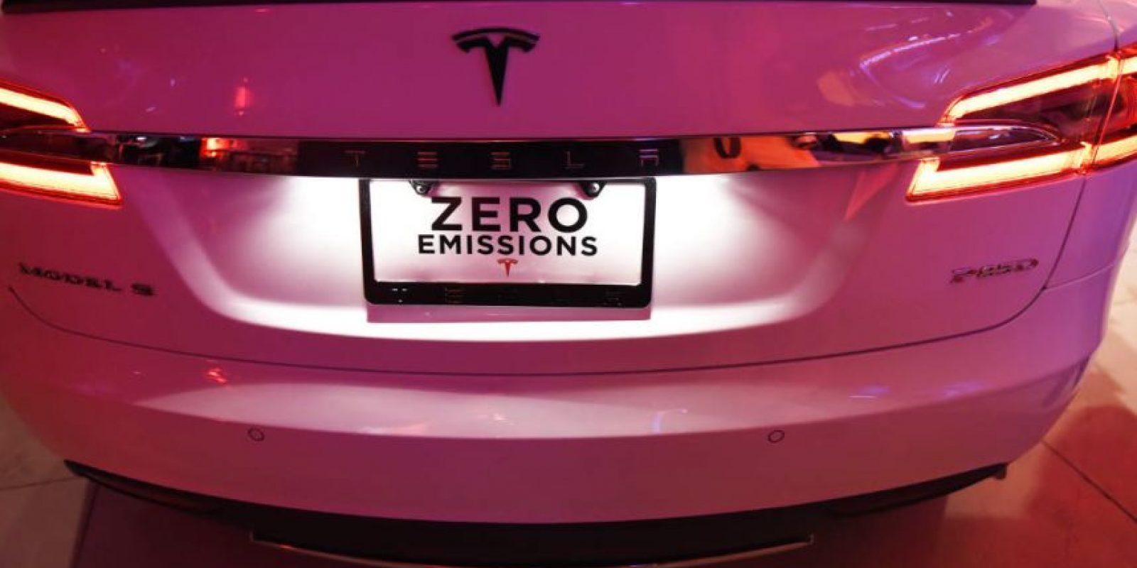 Es el automóvil eléctrico con mayor autonomía. Foto:Getty Images