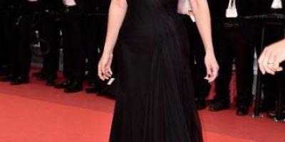 Julia Roberts desfiló descalza en la alfombra roja de Cannes