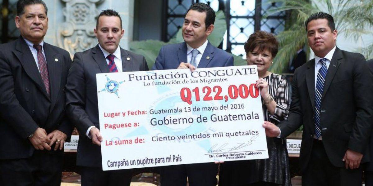 Conguate entrega lo recaudado entre migrantes guatemaltecos que viven en Estados Unidos