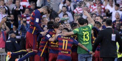 Suárez le da al Barcelona su título número 24 de la Liga Española
