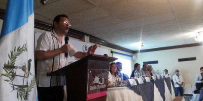 Primera reunión por reformas judiciales en la que participa Morales