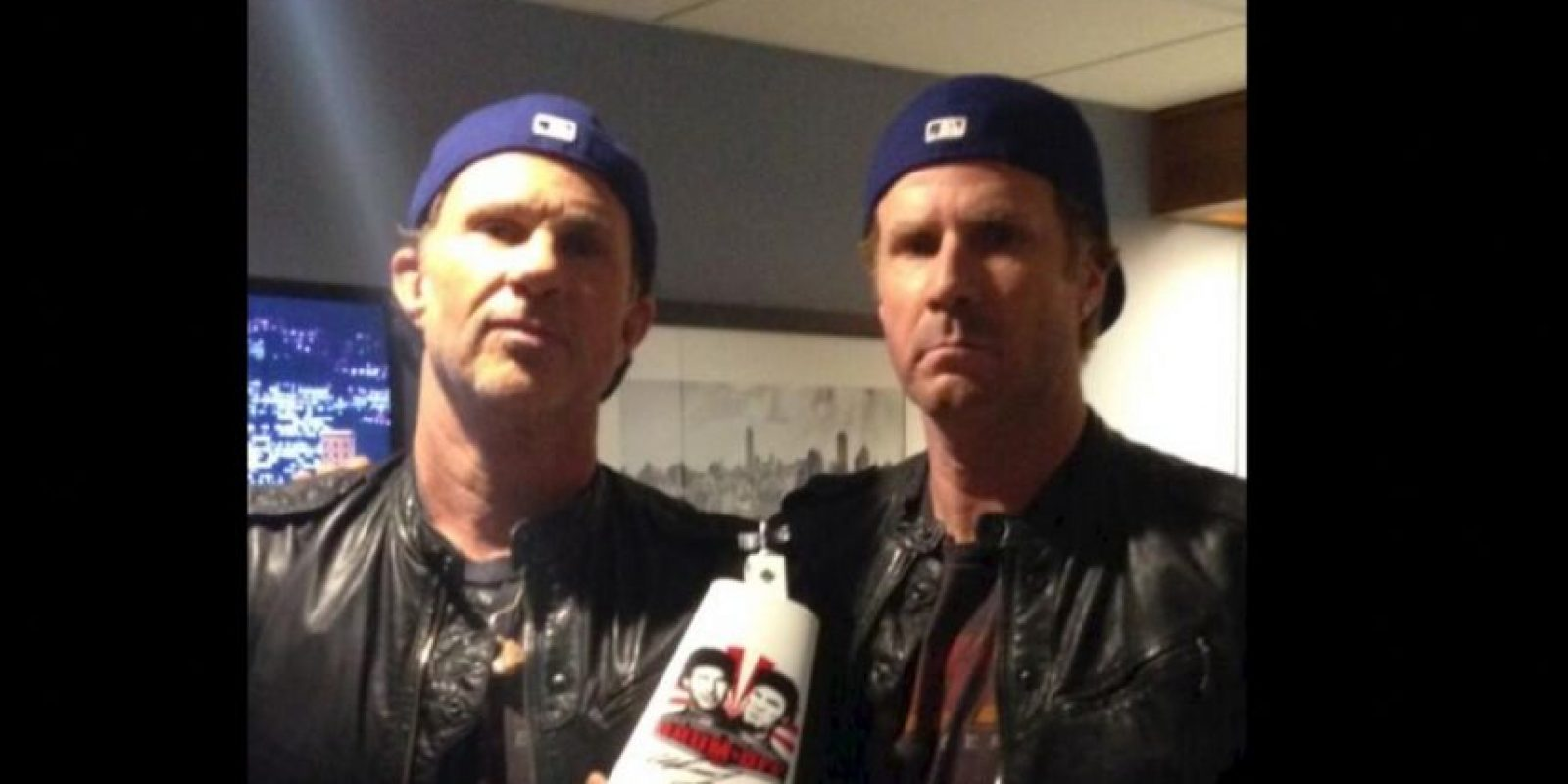 1. Chad Smith y Will Ferrel Foto: Twitter.com/RHCPChad