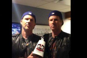 1. Chad Smith y Will Ferrel Foto:Twitter.com/RHCPChad