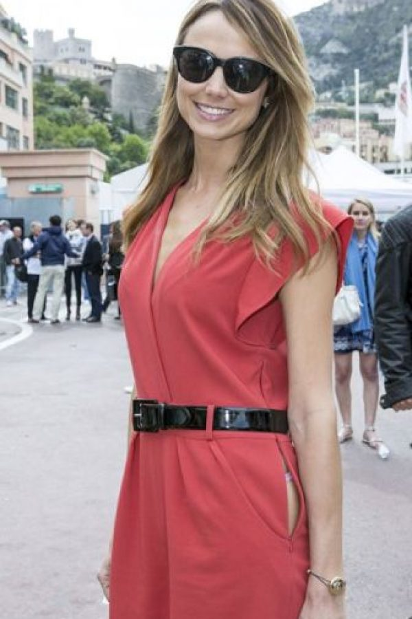 Stacy Keibler y su abertura. Foto: vía Getty Images