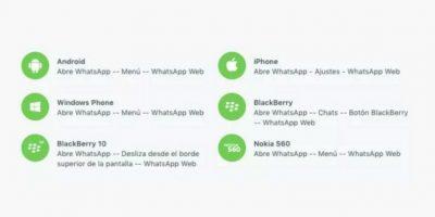 Y Mac para 10.9 en adelante. Foto:WhatsApp
