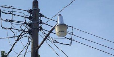 Servicio eléctrico será irregular el lunes 16 de mayo