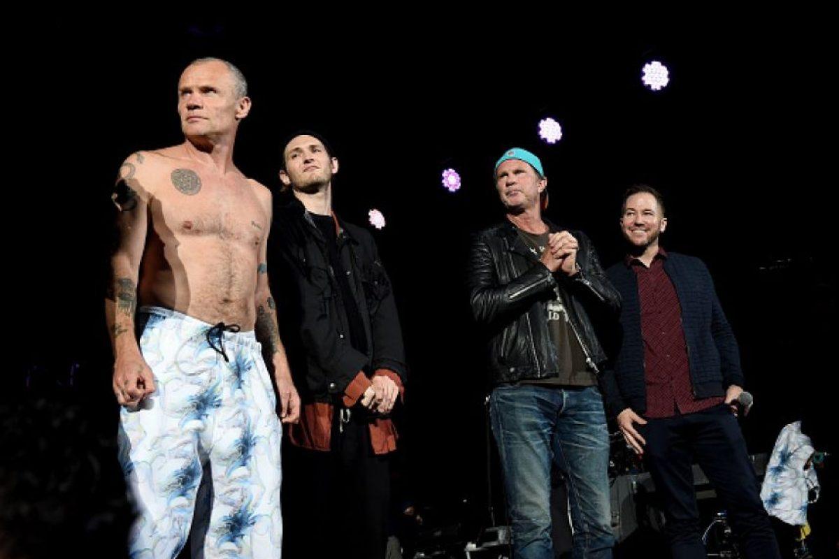La banda tiene un concierto agendado en Burbank, California, el próximo martes Foto:Getty Images