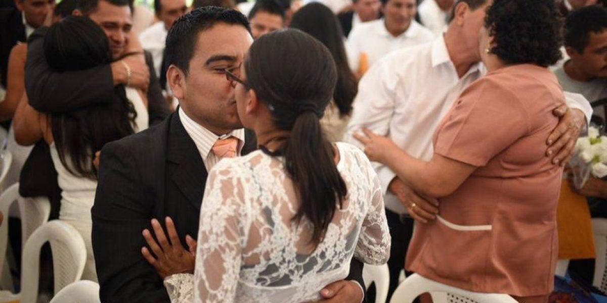 Parejas contraen matrimonio en ceremonia masiva del Renap