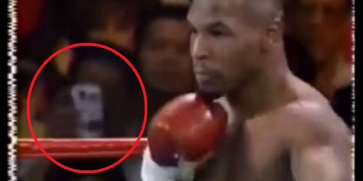 VIDEO: Smartphone en pelea de Mike Tyson de 1995