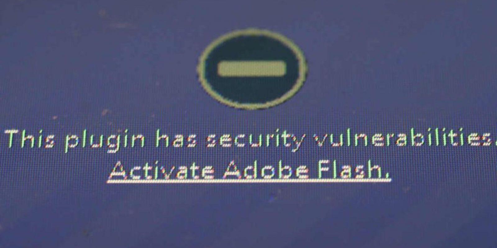 Otro motivo fue la falta de seguridad de Flash, que persistía aunque Apple trabajó con Adobe para resolverlo. Foto:Getty Images