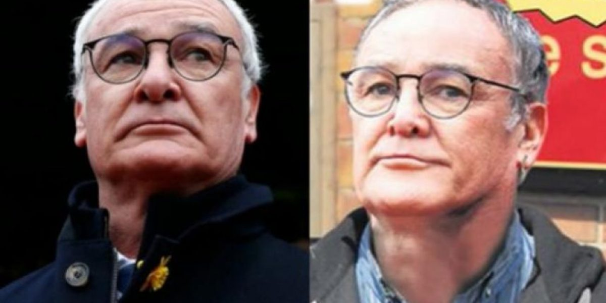 Doble de famoso técnico Ranieri se acuesta con 26 mujeres
