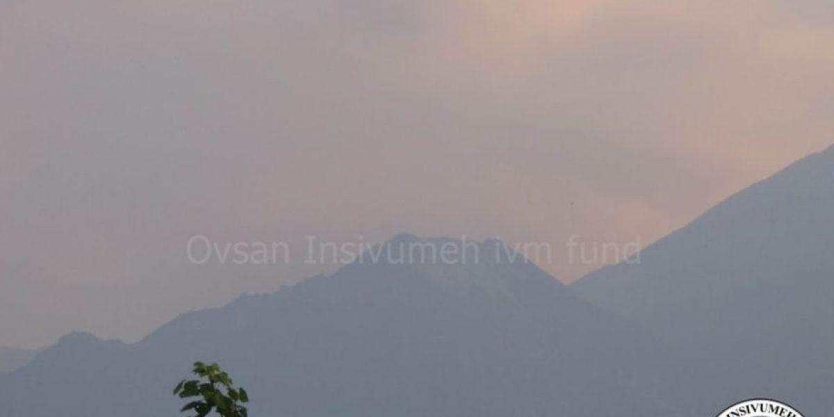 Registran nueva erupción en el volcán Santiaguito