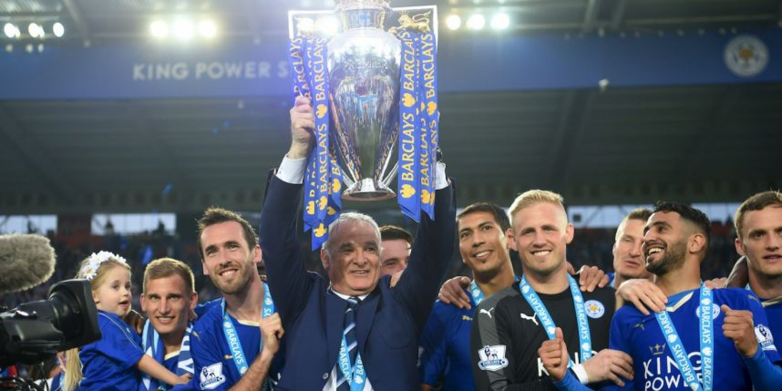 Claudio Ranieri hizo lo impensable Foto: Getty Images